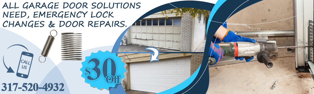 Repair Garage Door Indianapolis IN Banner